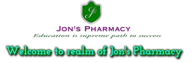 Welcome to the realm of Jon's pharmacy